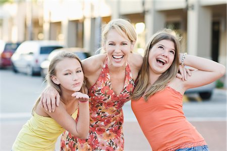Portrait of Mother and Daughters Stock Photo - Rights-Managed, Code: 700-03004037