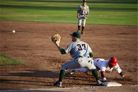 professional baseball game - Baseball Game Stock Photo - Rights-Managed, Code: 700-03004031