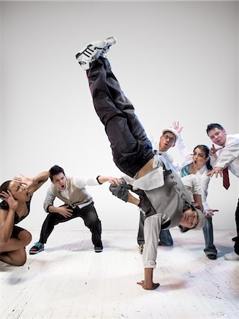 Breakdancers Stock Photo - Rights-Managed, Code: 700-03005065