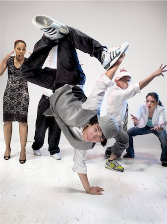 southeast asian ethnicity - Breakdancers Stock Photo - Rights-Managed, Code: 700-03005063