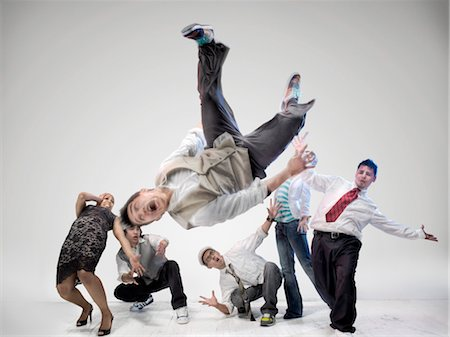 Breakdancers Stock Photo - Rights-Managed, Code: 700-03005077