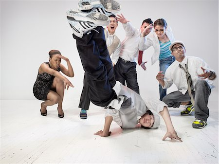 Breakdancers Stock Photo - Rights-Managed, Code: 700-03005073