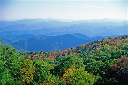 View of Blue Ridge Mountains, North Carolina, USA Stock Photo - Rights-Managed, Code: 700-03005156
