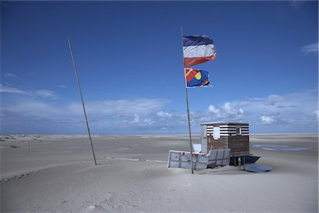Beach Hut by the North Sea, Wittduen, Amrum, Schleswig-Holstein, Germany Stock Photo - Rights-Managed, Code: 700-03003585