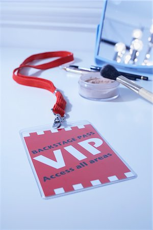 special event - VIP Pass in Dressing Room Stock Photo - Rights-Managed, Code: 700-03003657