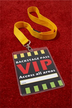 special event - VIP Pass Stock Photo - Rights-Managed, Code: 700-03003653