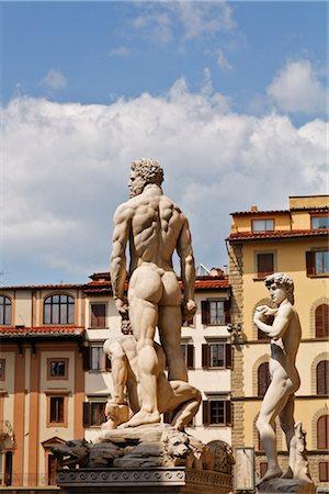 Piazza della Signoria, Florence, Tuscany, Italy Stock Photo - Rights-Managed, Code: 700-03015128