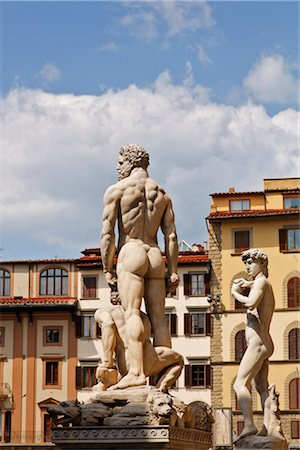 Piazza della Signoria, Florence, Tuscany, Italy Stock Photo - Rights-Managed, Code: 700-03015128