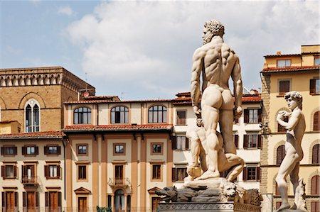 Piazza della Signoria, Florence, Tuscany, Italy Stock Photo - Rights-Managed, Code: 700-03015129