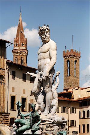 Piazza della Signoria, Florence, Tuscany, Italy Stock Photo - Rights-Managed, Code: 700-03015133