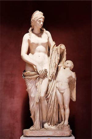 Statue in the Vatican Museum, Vatican City, Rome, Italy Stock Photo - Rights-Managed, Code: 700-03015152