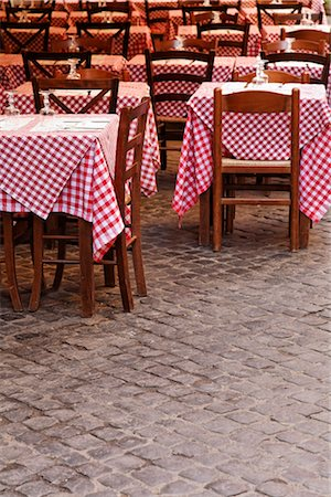 Cafe in Rome, Italy Stock Photo - Rights-Managed, Code: 700-03015165