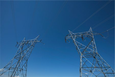Hydro Towers Stock Photo - Rights-Managed, Code: 700-03017669