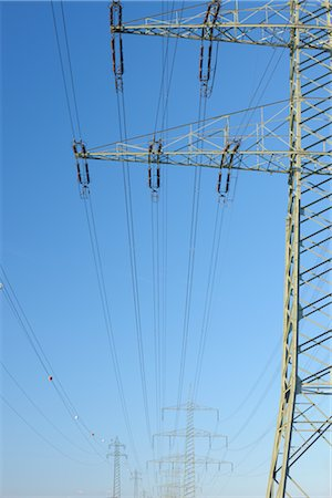 Power Lines Stock Photo - Rights-Managed, Code: 700-03018070