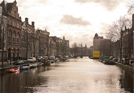 Canal, Amsterdam, Netherlands Stock Photo - Rights-Managed, Code: 700-03018138