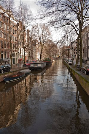 Canal, Amsterdam, Netherlands Stock Photo - Rights-Managed, Code: 700-03018139