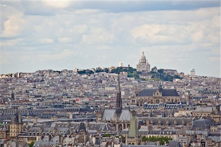 Montmartre, Paris, Ile de France, France Stock Photo - Rights-Managed, Code: 700-03018155