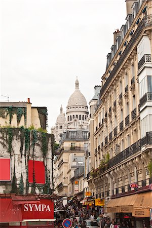 Montmartre, Paris, Ile de France, France Stock Photo - Rights-Managed, Code: 700-03018166