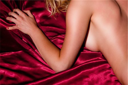 Nude Woman on Bed Stock Photo - Rights-Managed, Code: 700-03054112