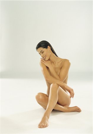 Portrait of Nude Woman Stock Photo - Rights-Managed, Code: 700-03059137