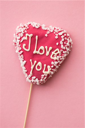 Heart Shaped Lollipop Stock Photo - Rights-Managed, Code: 700-03067901