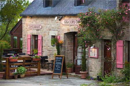 Locronan, Finistere, Brittany, France Stock Photo - Rights-Managed, Code: 700-03068149