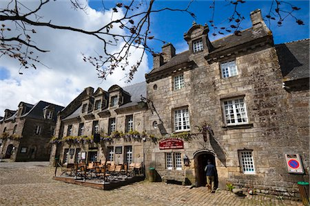 Locronan, Finistere, Brittany, France Stock Photo - Rights-Managed, Code: 700-03068164