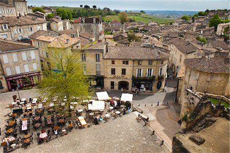 Saint-Emilion, Gironde, Aquitaine, France Stock Photo - Rights-Managed, Code: 700-03068168