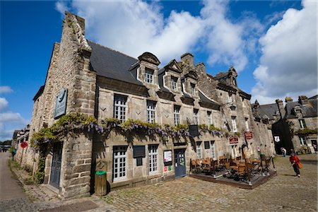 Locronan, Finistere, Brittany, France Stock Photo - Rights-Managed, Code: 700-03068162