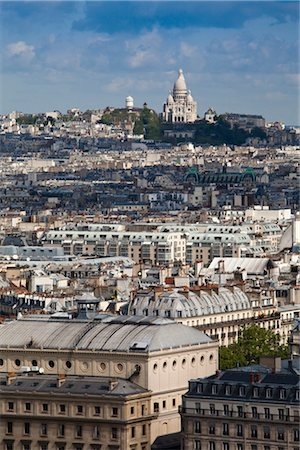 Overview of Paris, France Stock Photo - Rights-Managed, Code: 700-03068305