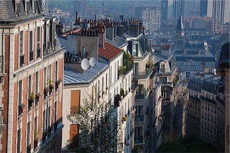 Montmartre, Paris, France Stock Photo - Rights-Managed, Code: 700-03068344