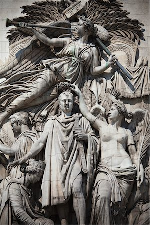 The Triumph of 1810 at Arc de Triomphe, Paris, France Stock Photo - Rights-Managed, Code: 700-03068383