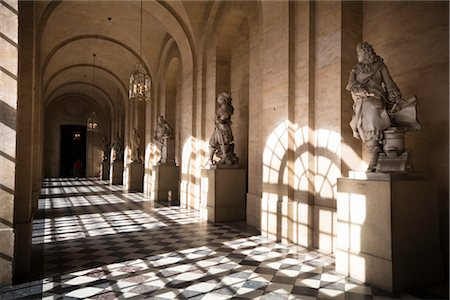 Palace of Versailles, Ile de France, France Stock Photo - Rights-Managed, Code: 700-03068814