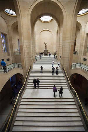 The Louvre, Paris, Ile de France, France Stock Photo - Rights-Managed, Code: 700-03068843