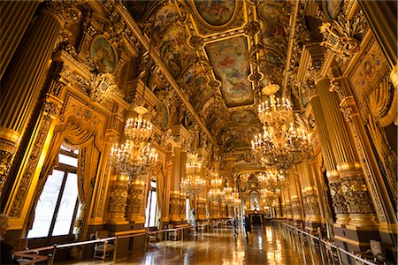 Garnier Opera, Paris, Ile de France, France Stock Photo - Rights-Managed, Code: 700-03068887