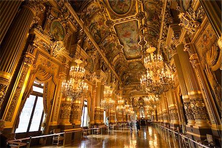 Garnier Opera, Paris, Ile de France, France Stock Photo - Rights-Managed, Code: 700-03068887
