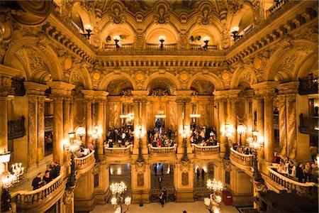 Garnier Opera, Paris, Ile de France, France Stock Photo - Rights-Managed, Code: 700-03068891