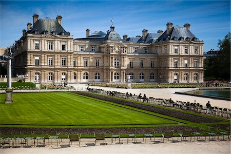 Luxembourg Gardens, Paris, Ile de France, France Stock Photo - Rights-Managed, Code: 700-03068908