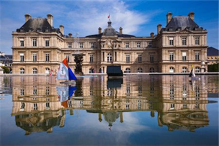 Luxembourg Gardens, Paris, Ile de France, France Stock Photo - Rights-Managed, Code: 700-03068909