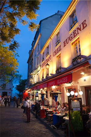 Montmartre, Paris, Ile de France, France Stock Photo - Rights-Managed, Code: 700-03068936