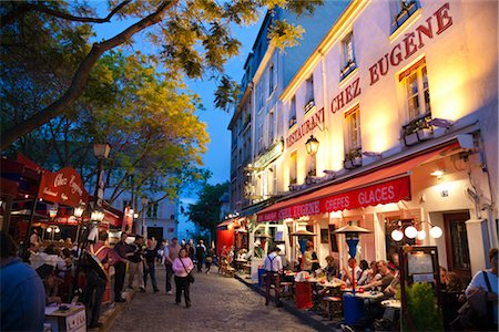 Montmartre, Paris, Ile de France, France Stock Photo - Rights-Managed, Code: 700-03068937