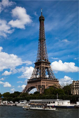 Eiffel Tower, Paris, Ile de France, France Stock Photo - Rights-Managed, Code: 700-03068956