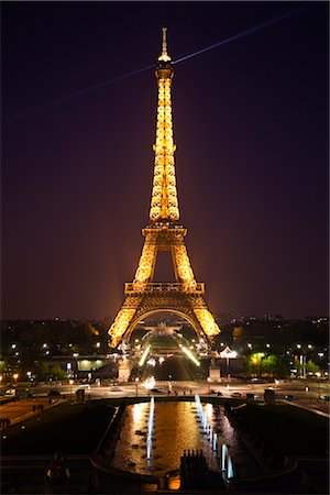 Eiffel Tower, Paris, Ile de France, France Stock Photo - Rights-Managed, Code: 700-03068986