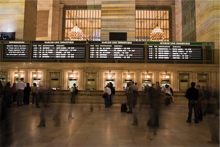 Ticket Counter at Grand Central Station, Manhattan, New York City, New York, USA Stock Photo - Rights-Managed, Code: 700-03069094