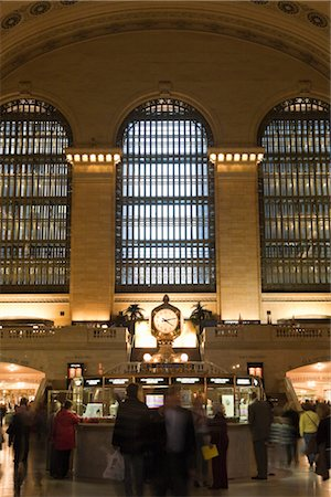 Grand Central Station, Manhattan, New York City, New York, USA Stock Photo - Rights-Managed, Code: 700-03069096