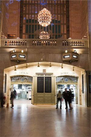 Entrance to Train Tracks, Grand Central Station, Manhattan, New York City, New York, USA Stock Photo - Rights-Managed, Code: 700-03069099
