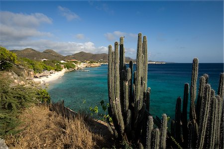 Overview of Curacao Shoreline, Netherlands Antilles Stock Photo - Rights-Managed, Code: 700-03075688