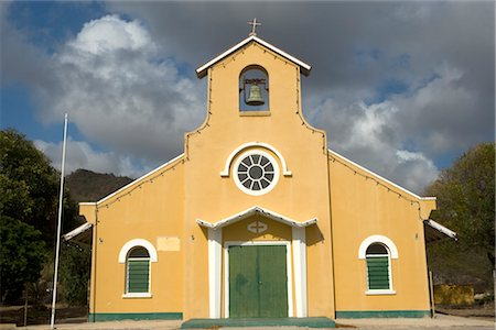 Church in Curacao, Netherlands Antilles Stock Photo - Rights-Managed, Code: 700-03075691