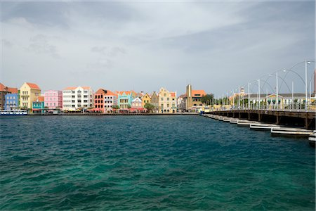 Willemstad Harbor, Willemstad, Curacao, Netherlands Antilles Stock Photo - Rights-Managed, Code: 700-03075717