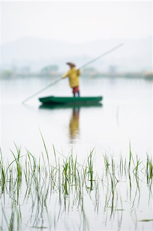 Fisherman, South Korea Stock Photo - Rights-Managed, Code: 700-03084026